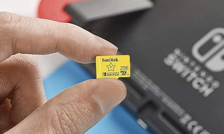 tarjeta de memoria para Nintendo Switch