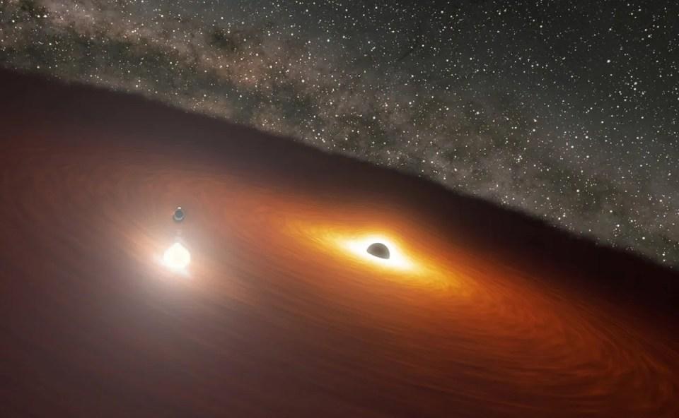 curiosidades sobre los agujeros negros