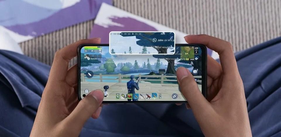 El Oppo A74 4G es un teléfono gaming que permite bloquear notificaciones