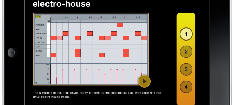 Ipad for Examples of house music