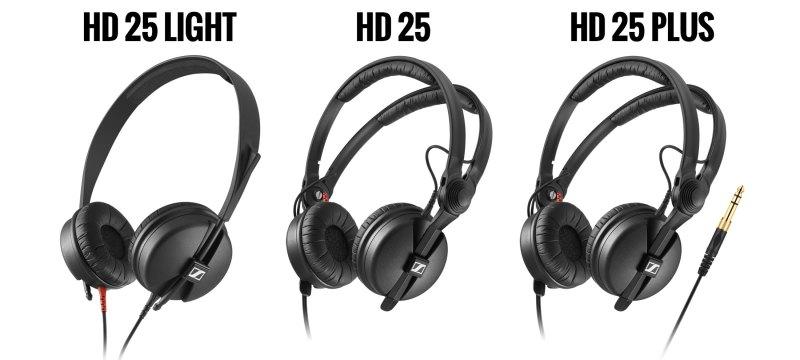 Sennheiser HD 25, se reducen sus modelos para una eleccion mas sencilla