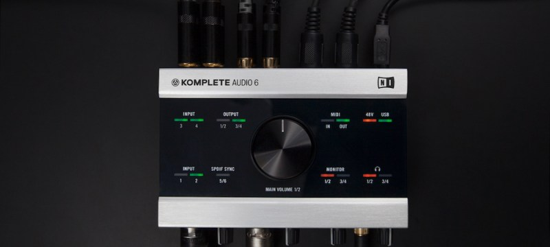 Interface Komplete Audio 6 de Native Instruments con rebaja
