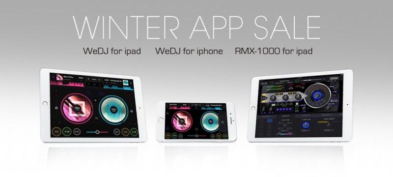Pioneer DJ rebaja por tiempo limitado sus aplicaciones para iPhone e iPad