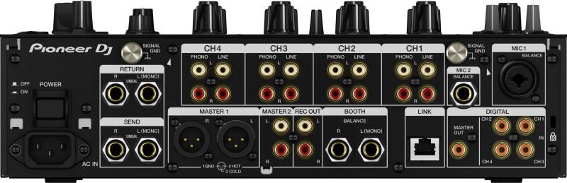 Pioneer DJM-900NXS2 conexiones