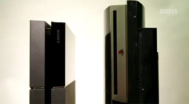 PS4 vs PS3 size