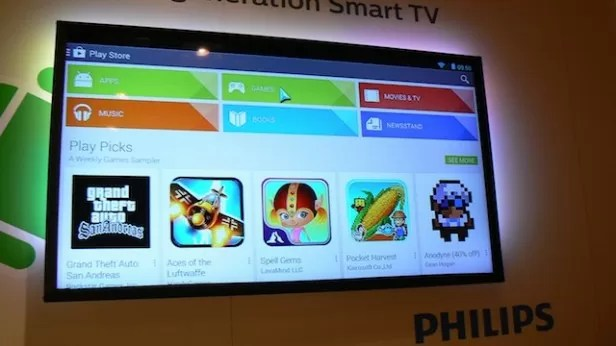 Philips anuncia TV 4K com Android durante a IFA