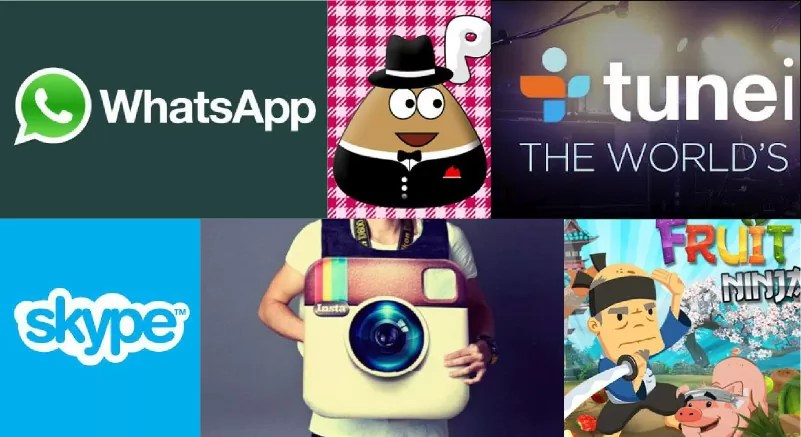 As 10 apps mais populares do Android