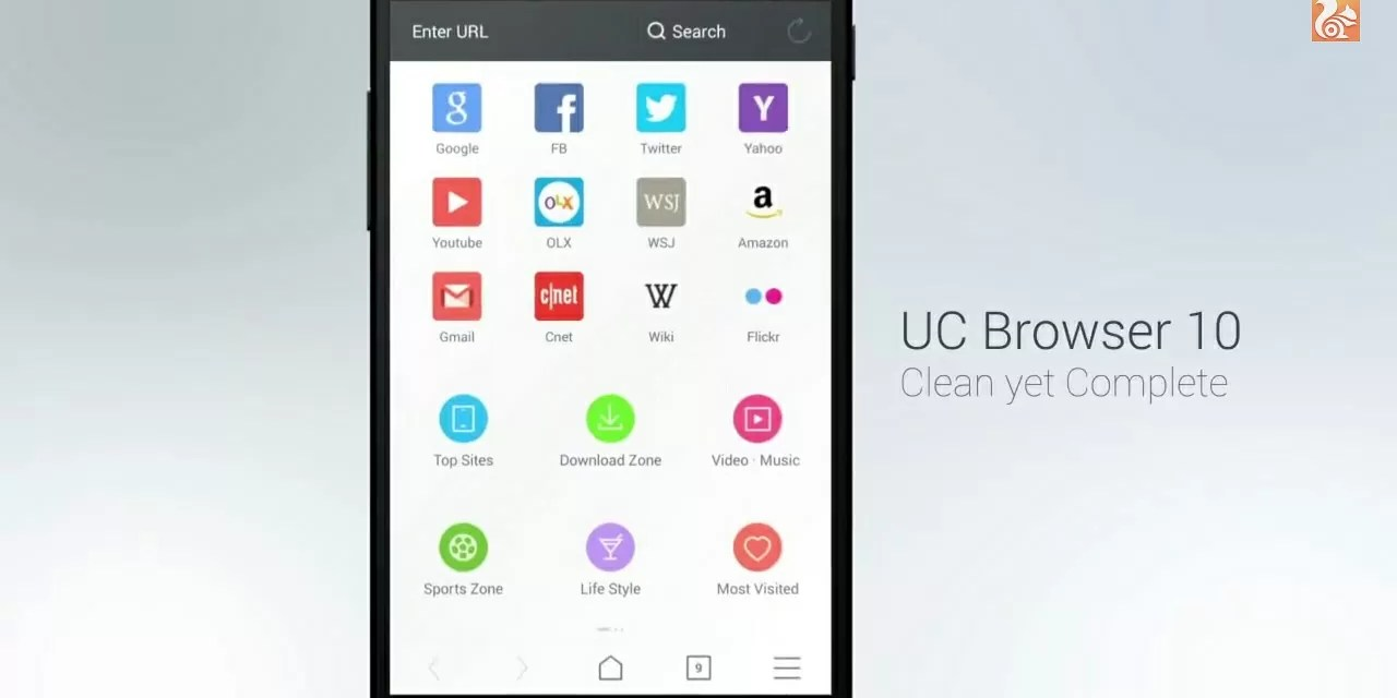 Novo UC Browser 10.0, inspirado no Android Lollipop
