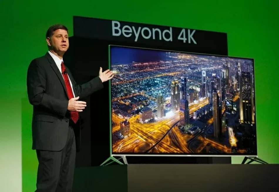 AQUOS Beyond 4K Ultra HD TV CES 2015