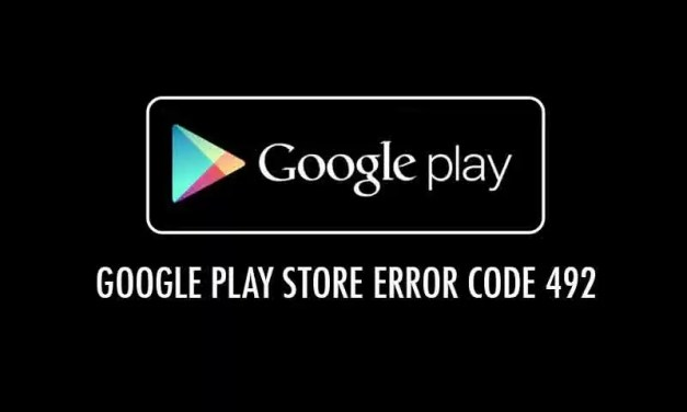 Erro 492 Google Play Store: Como Resolver