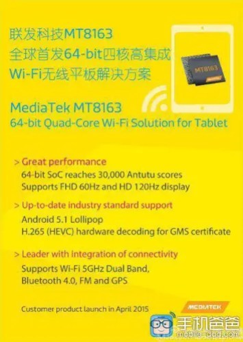 MediaTek MT8163