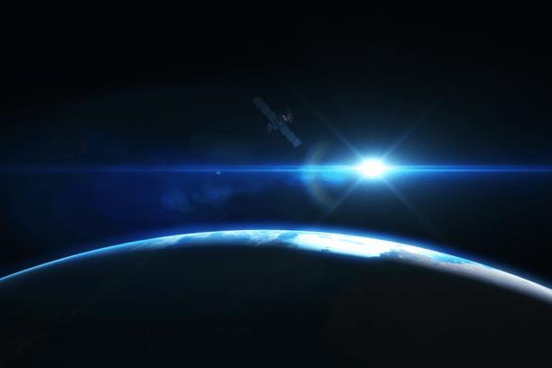 red de satélites rápida