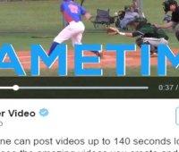 Ahora sube videos en Twitter de hasta 140 segundos (2:20 mins)