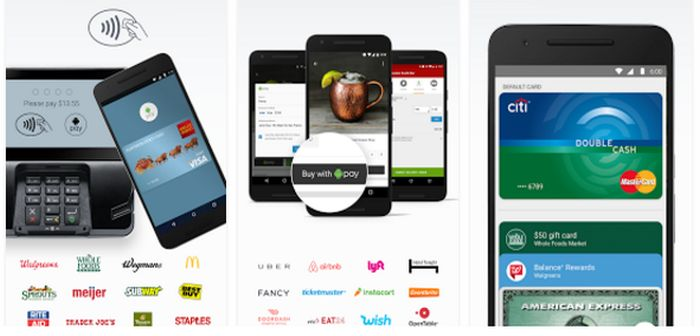 configurar android pay