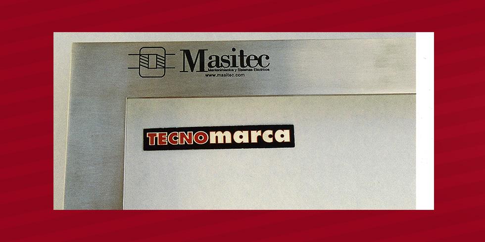 grabado láser acero Masitec