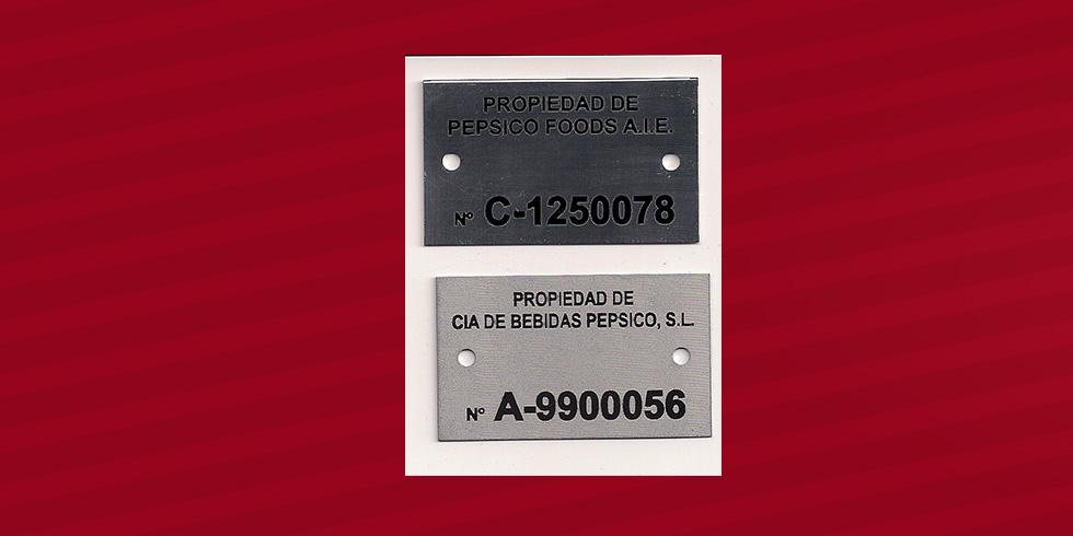 grabado láser aluminio Bebidas Pepsico