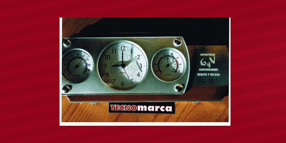 grabado láser aluminio García Valera
