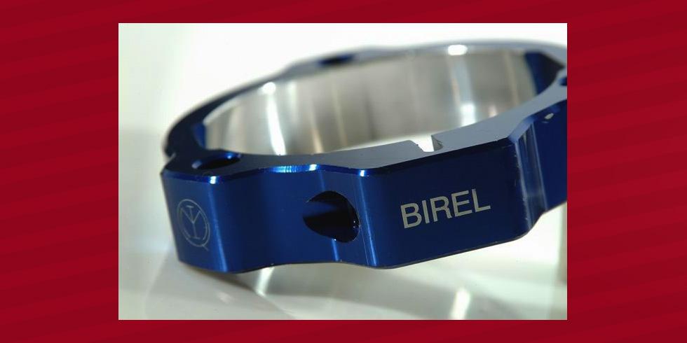 grabado láser aluminio anodizado Birel