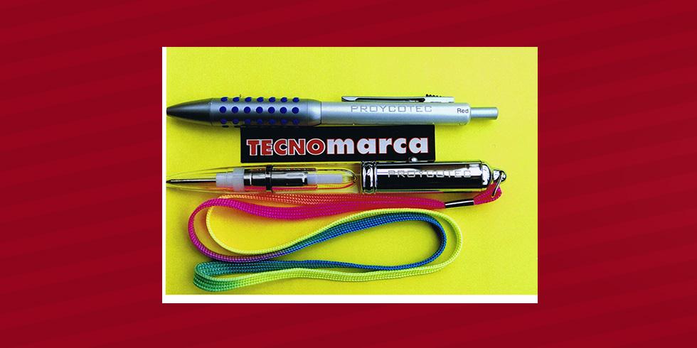 grabado láser bolígrafo Proycotec