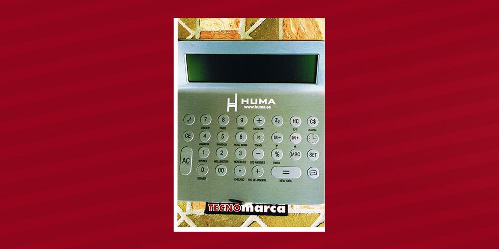 grabado láser calculadora Huma