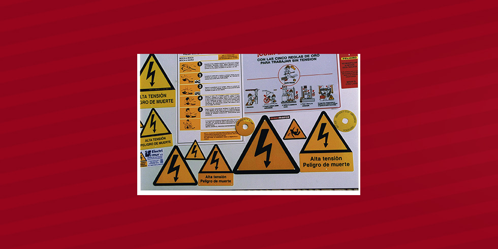 riesgo electrico varios