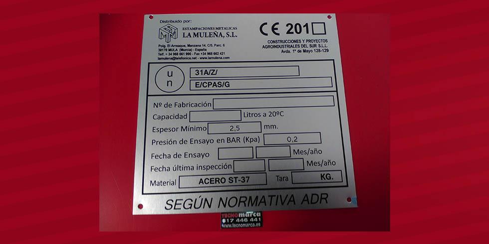 Placa CE_La Muleña