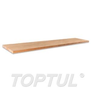 ΞΥΛΙΝΟΣ ΠΑΓΚΟΣ ΕΡΓΑΣΙΑΣ ''Wooden Worktops'' 2244x500x40mm WMS