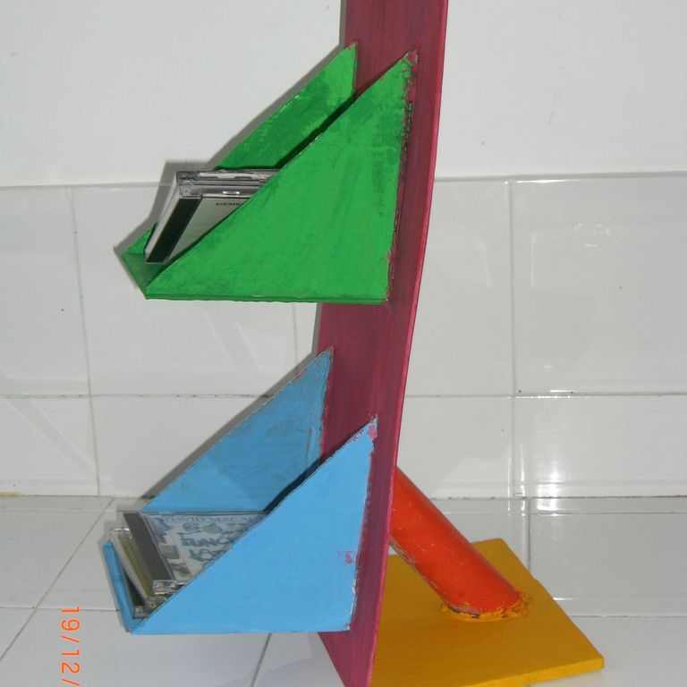 Organizador de CD- Proyectos, Diseño