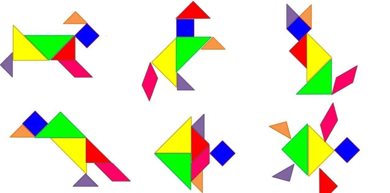 Tangram- Proyectos, Dibujo