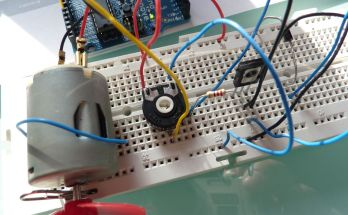 Prácticas 3 y 4 con arduino: control de un motor y un servomotor- potenciometro