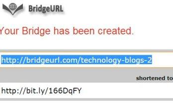 BridgeURL, una manera fácil de compartir enlaces.- Recursos TIC