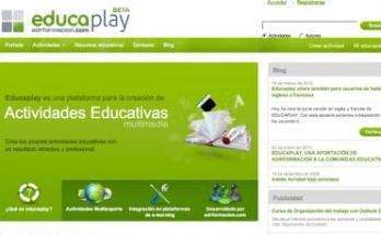 Crea actividades educativas online con Educaplay- Recursos TIC