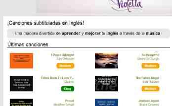 Aprende inglés con canciones subtituladas- Recursos TIC
