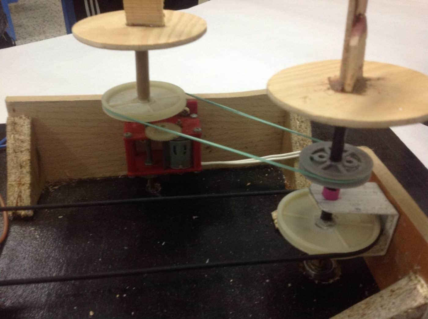 Proyecto de mecanismos muñeco articulado- Mecanismos, Proyectos