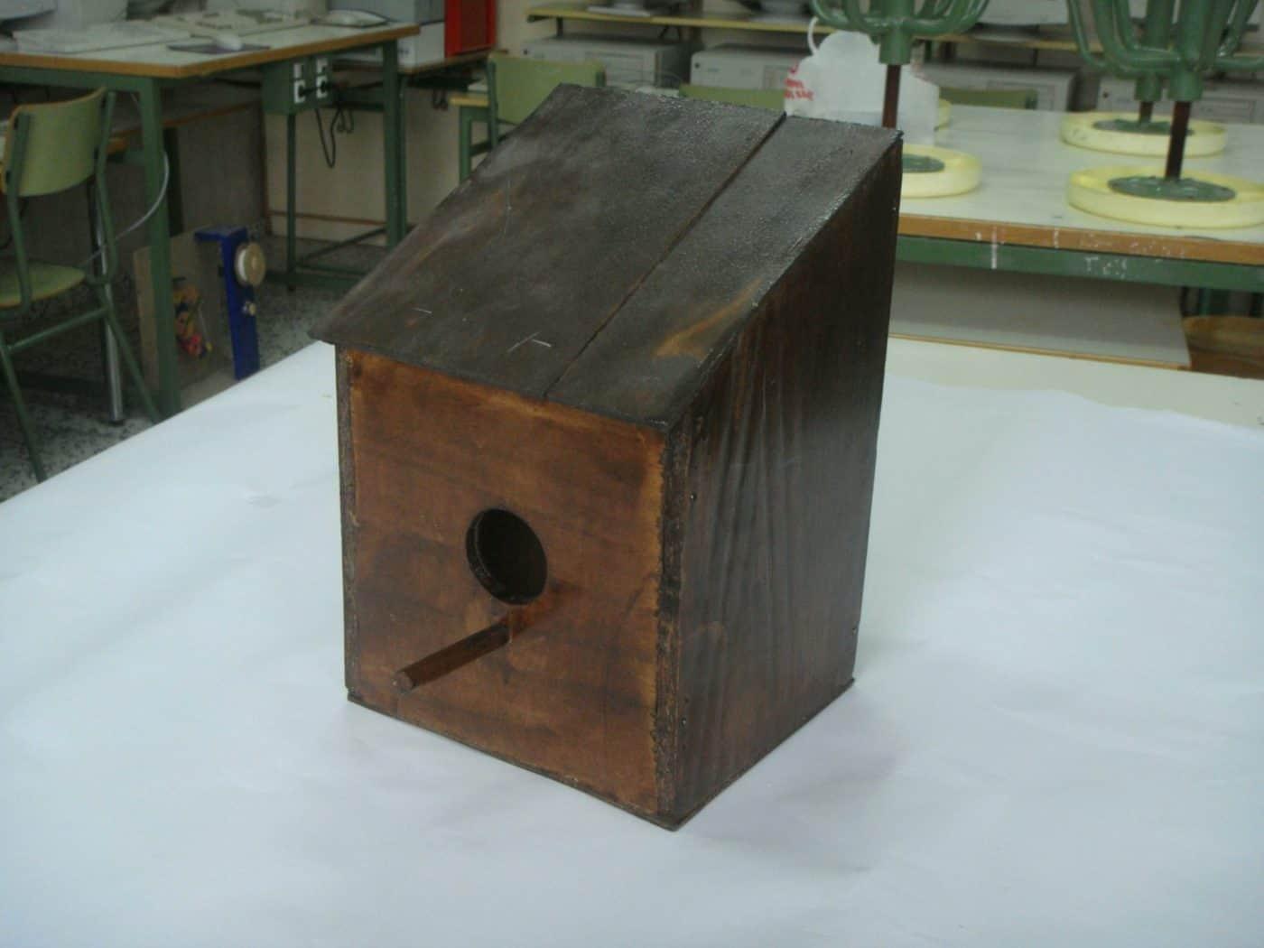 Construye una casita para pájaros modelo Angry Bird- Proyectos, Diseño