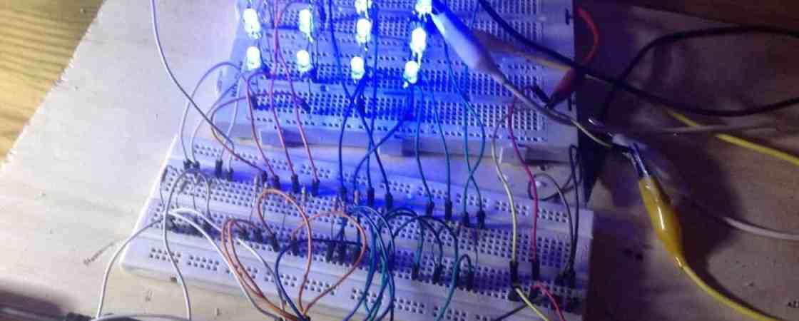Cómo hacer un cubo de leds 4x4x4 con Arduino- Arduino, Proyectos