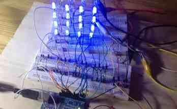 Cómo hacer un cubo de leds 4x4x4 con Arduino- Proyectos