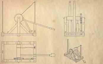 Construye una catapulta Leonardo da Vinci- Proyectos