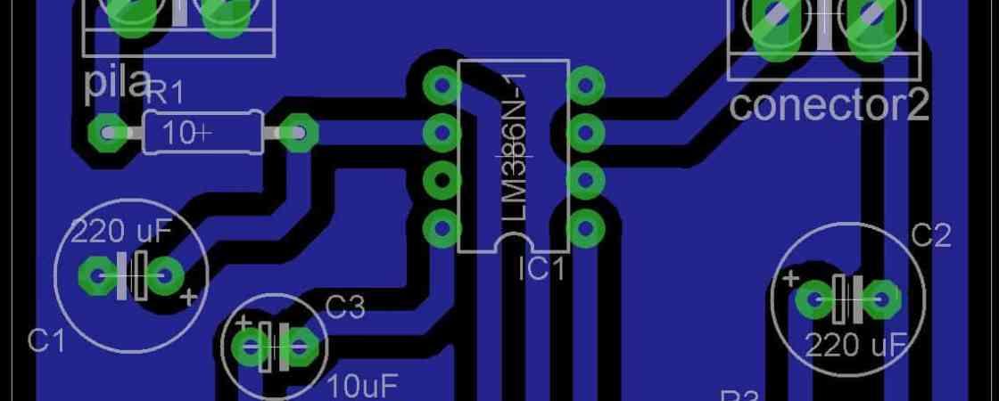 PCB: Creando un plano de masa con Eagle- Electrónica
