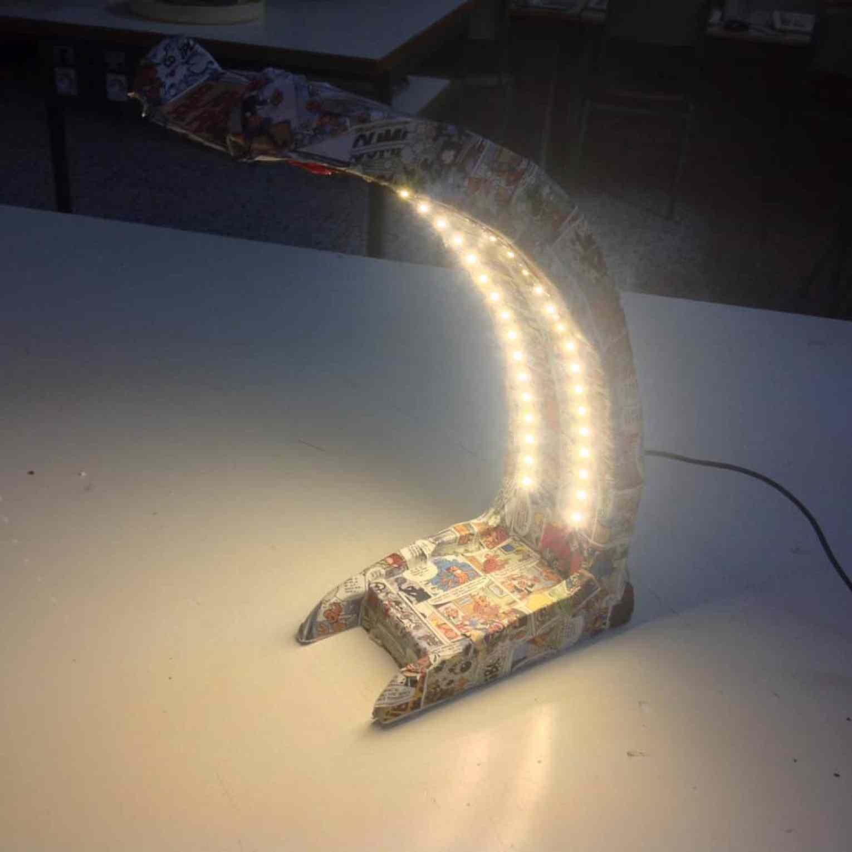 Lámpara de leds de escritorio- Electricidad, Electrónica, Proyectos