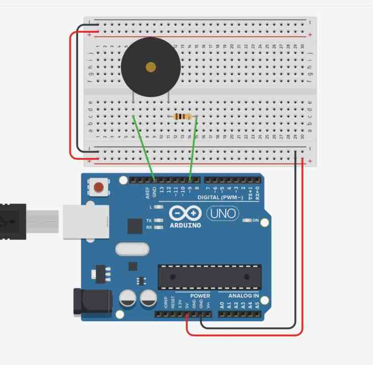 Haciendo música con Arduino y un buzzer piezoeléctrico- Arduino