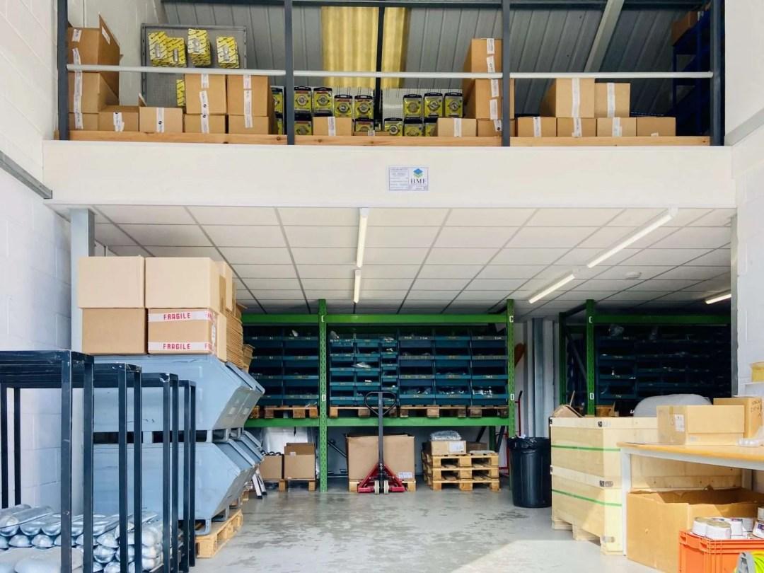 Tecnoseal UK warehouse