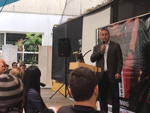 José Alcalá Franco, Representante de Spinning en Venezuela