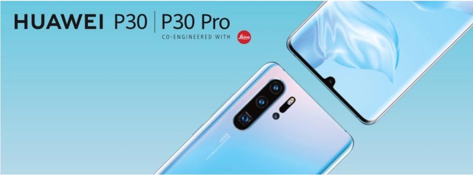 Huawei P30 e P30 PRO con 3