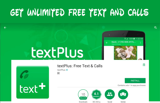TextPlus – Get Unlimited Free Text and Calls | US Number and Texting App