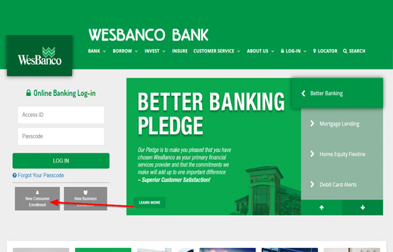 WesBanco Bank – WesBanco Bank Account | WesBanco Online Banking