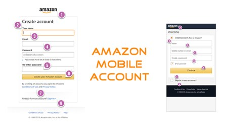 Amazon Mobile Account