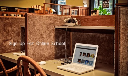 Sign Up for Online School