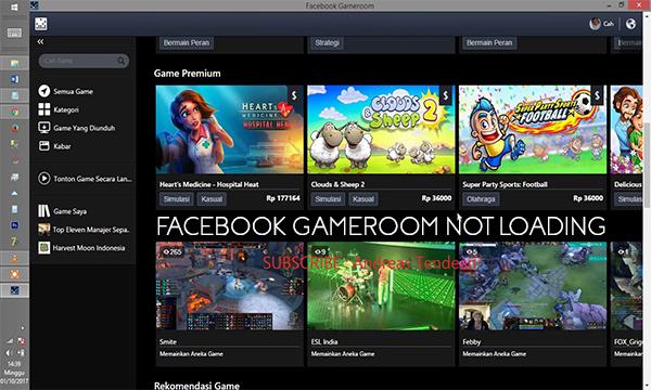 Facebook Gameroom not Loading – Play Games on Facebook Gameroom