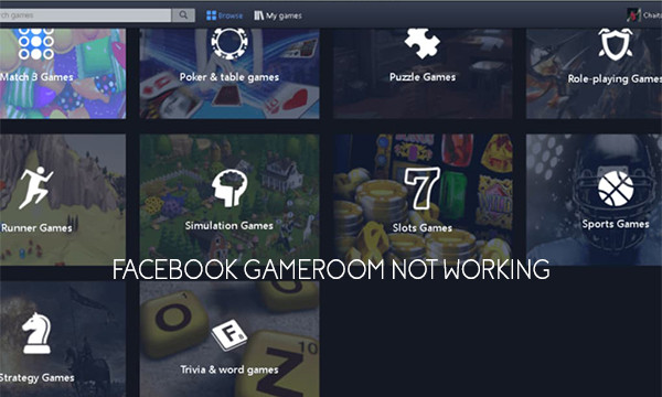 Facebook Gameroom not Working